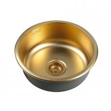 Apvali plautuvė sendinto aukso, bronza