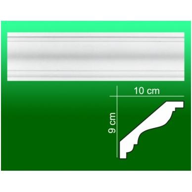 Gipsiniai kampiniai lubiniai apvadai ES-18