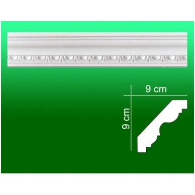 Gipsiniai kampiniai lubiniai apvadai ES-45