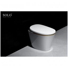 Išmanus daugiafunkcinis klozetas su bide SOLO smart