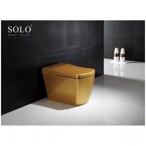 Išmanus daugiafunkcinis klozetas su bide SOLO smart aukso spalvos