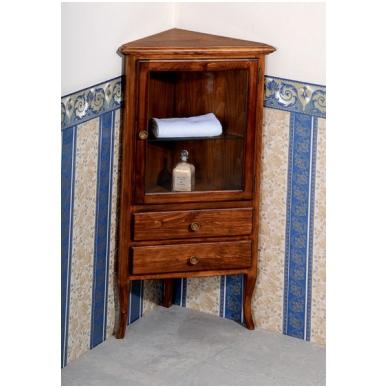 Kampinė vonios spintelė Retro 1701