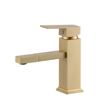 Matinio žalvario vonios maišytuvas su dušeliu 89056G-5 3