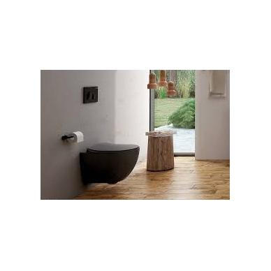 Pakabinamas WC juodas Antratcitas
