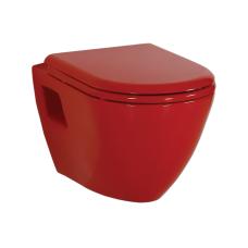 Raudonas, pakabinamas klozetas TP325