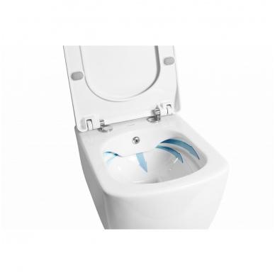Rimless WC/BIDE  SOLO, UNIVERSAL TRAP 2