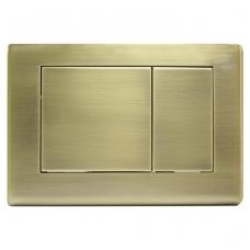 Sendintos bronzos spalvos, vandens nuleidimo mygtukas
