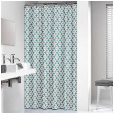 Tekstilinė, dušo užuolaida DU36