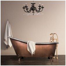 Varinė vonia Retro ant kojelių 172 × 76 × 53-78 cm