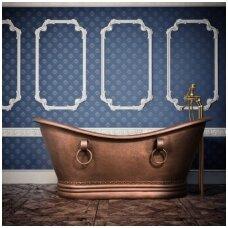 Varinė vonia su žiedais