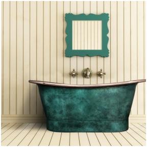 Varinė vonia Venus Vintage 172 × 70 × 72 cm Green, Rose