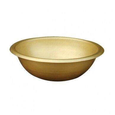 Žalvarinis, bronzinis praustuvas pastatomas 41*41*15cm, 4,8kg BR026 2