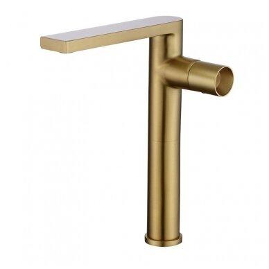 Žalvarinis, bronzinis praustuvas pastatomas arba įleidžiamas 421*421*15cm, 1,8kg BR062 5